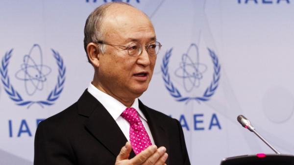 The director general of the International Atomic Energy Agency, Yukiya Amano, says Iran has not provided answers to a number of questions about its nuclear program. Amano spoke at a news conference after meeting with the board of governors of the IAEA at its headquarters in Vienna.