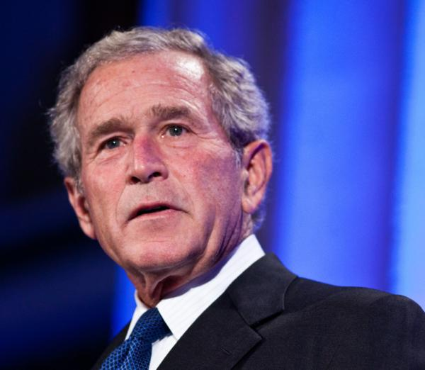 Former President George W. Bush in Washington, D.C., last September.