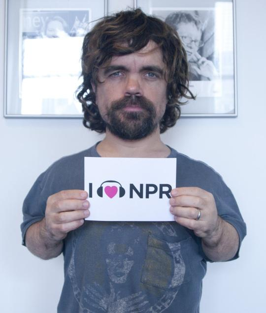 Peter Dinklage at NPR New York