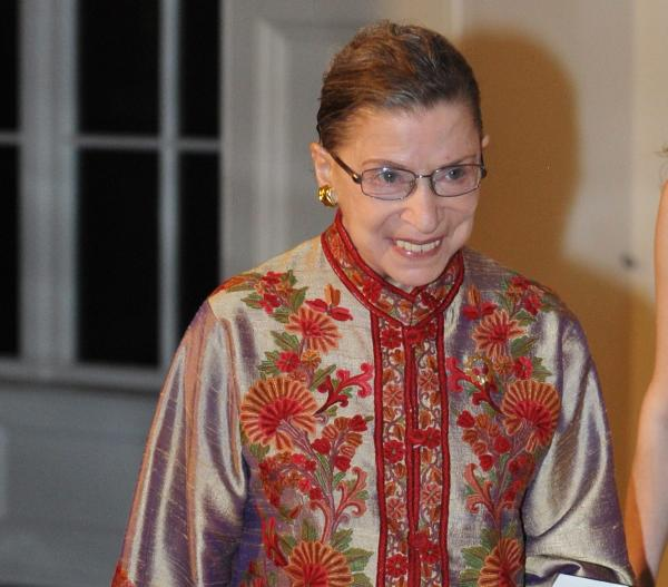 Supreme Court Associate Justice Ruth Bader Ginsburg, opera fan.