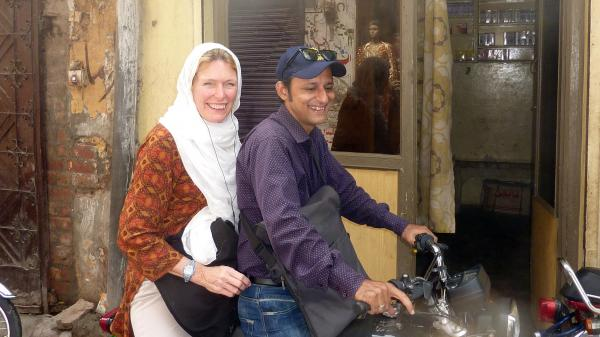"NPR's Jackie Northam travels through the urban slums of Lahore, Pakistan, with Omer Feroze, a ""social mobilizer,"" who works on polio vaccine campaigns."