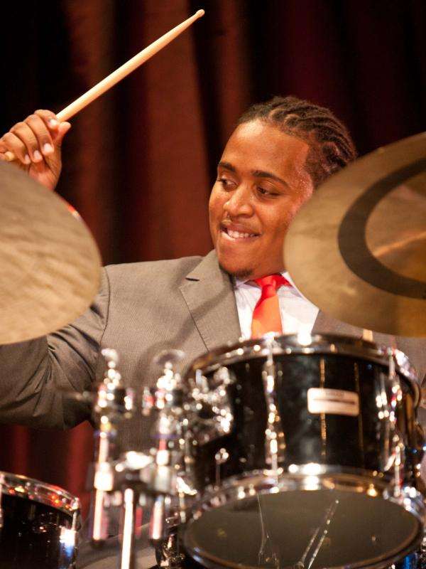 Jamison Ross competes in the semifinal round of the 2012 Thelonious Monk Competition.