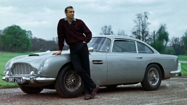 <strong>The Gold Standard:</strong> In NPR's survey, most readers chose Sean Connery (above, in <em>Goldfinger</em>), as the best James Bond. Daniel Craig placed second in our survey.