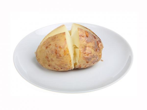 A hoarded baked potato appears to have been the source of botulism in some prison-made hooch.