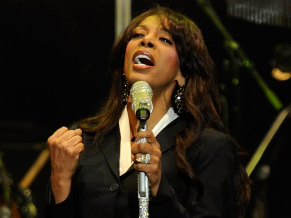 Donna Summer performs in October 2011. Summer, who died in May, is nominated for the Rock and Roll Hall of Fame this year for the fifth time.