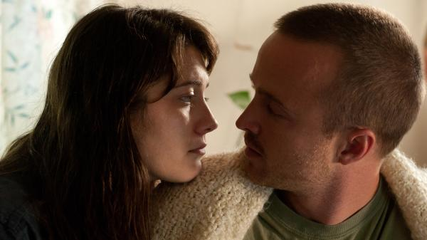 Kate and Charlie (Mary Elizabeth Winstead and Aaron Paul), a young married couple, stumble down Kate's path to sobriety.