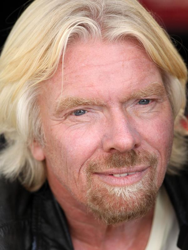 Richard Branson is the founder and chairman of Virgin Group.