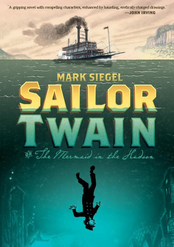 Cover, <em>Sailor Twain</em>