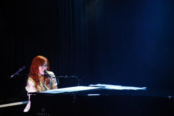 Tori Amos performing at an intimate NPR Music event. (Le Poisson Rouge / Friday October 5, 2012)