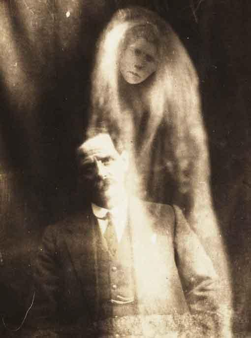 "The ""spirit"" photographs of William Hope, via <a href=""http://www.flickr.com/photos/nationalmediamuseum/sets/72157606849278823/with/2780183501/"" target=""_blank"">Flickr Commons</a>"
