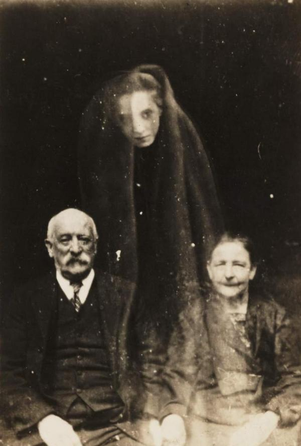 "The ""spirit"" photographs of William Hope, via <a href=""http://www.flickr.com/photos/nationalmediamuseum/sets/72157606849278823/with/2780183501/"">Flickr Commons</a>"