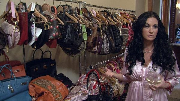 Heiress Heather, of the new show <em>My Shopping Addiction</em>, really likes to buy purses.