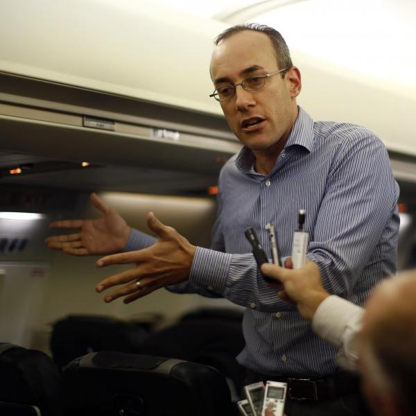 Dan Senor, a senior adviser to Republican presidential candidate Mitt Romney.