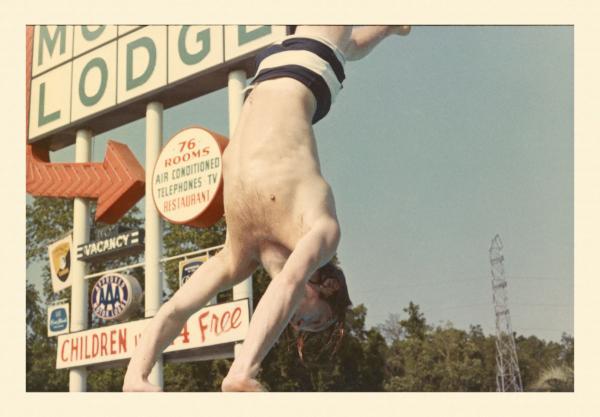 Brian Jones diving at the Manager Motor Lodge in Savannah, Ga.