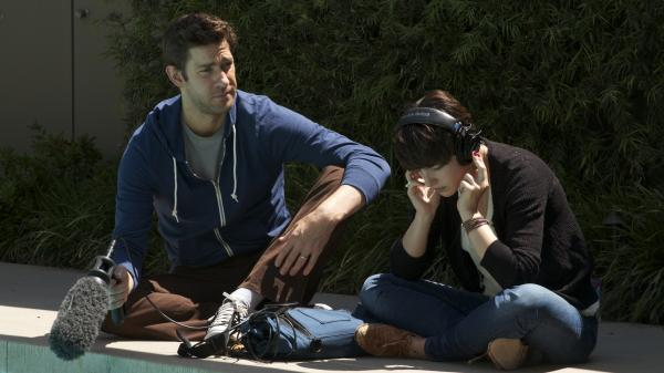 A married Hollywood sound man (John Krasinski) falls for his collaborator and house guest (Olivia Thirlby) in <em>Nobody Walks, </em>a messily mortifying study of emotional impulse.