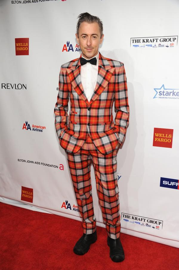 Alan Cumming attends the Elton John AIDS Foundation's 11th Annual An Enduring Vision Benefit on Monday night.