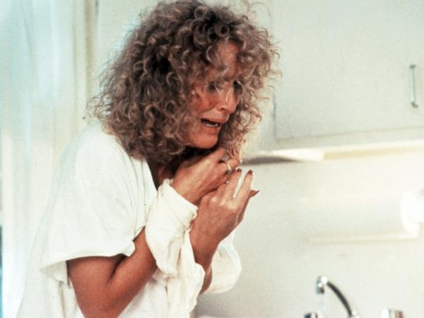 Glenn Close in <em>Fatal Attraction</em>.
