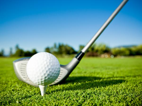 In speed golf, players run between holes carrying their clubs and often finish an 18-hole round in less than an hour.