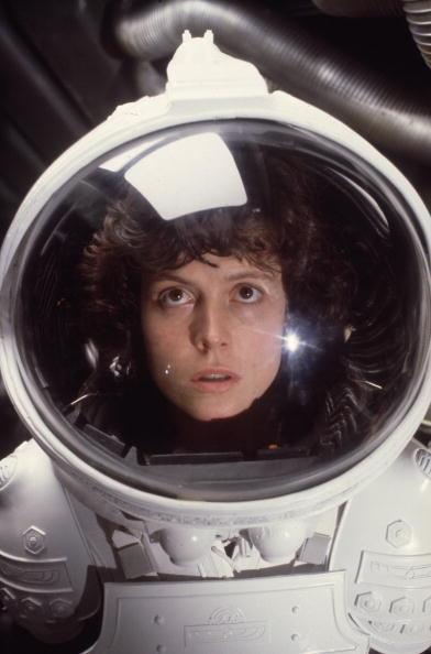 Sigourney Weaver as Ripley in Ridley Scott's <em>Alien</em>.