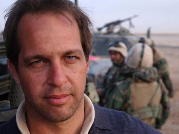 Dexter Filkins earned a George Polk award in 2004 for his coverage of Fallujah. His book, <em>The Forever War, </em>is about his experiences in Iraq and Afghanistan.
