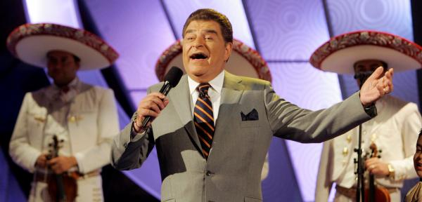 Mario Kreutzberger, aka Don Francisco, has served as host of <em>S<em>á</em>bado Gigante</em> since the show's debut in 1962. The variety show will mark its 50th anniversary on Saturday.