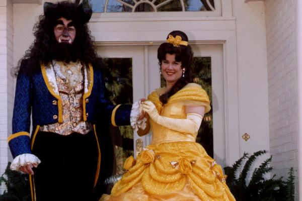 The best thing about being veep is that you can wear ridiculous things, obviously. (Al and Tipper Gore pose as Beauty and the Beast at their residence in 1995.)