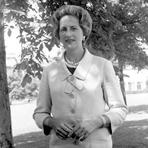 Letitia Baldrige, when she was first lady Jacqueline Kennedy's social secretary.
