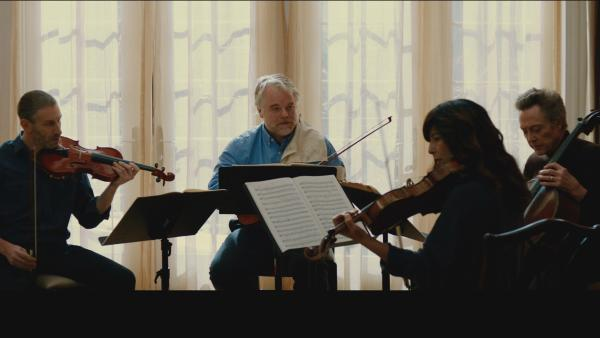 Members of a famous string quartet (Mark Ivanir, Philip Seymour Hoffman, Christopher Walken and Catherine Keener) fight to stay together despite internal conflict.