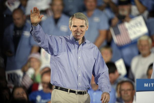 Ohio Sen. Rob Portman, 56, was considered a contender for the vice presidential slot. Now, his name is coming up as a potential Treasury secretary or secretary of state.