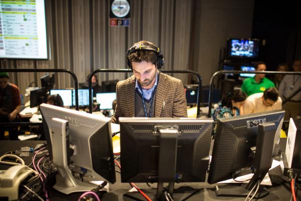 NPR Host Guy Raz in Studio 4A.