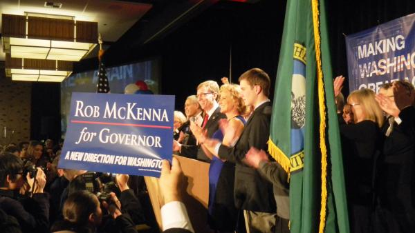 Republican Rob McKenna. Photo by Austin Jenkins.