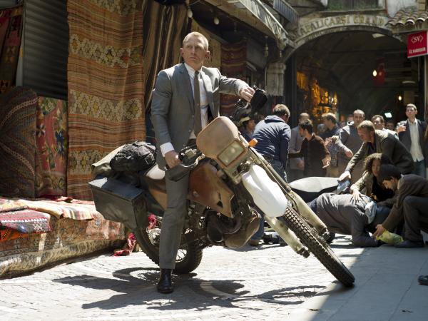 Daniel Craig stars as James Bond in <em>Skyfall</em>.