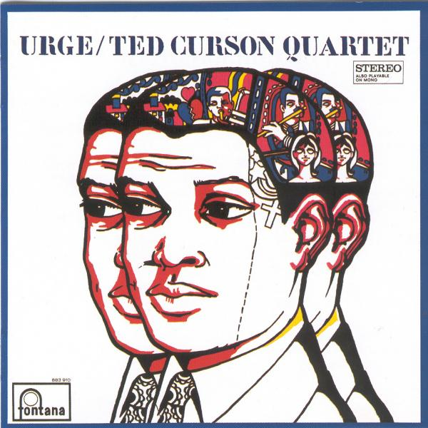Trumpeter Ted Curson, depicted here on the cover of his album <em>Urge</em>, died last Sunday morning.