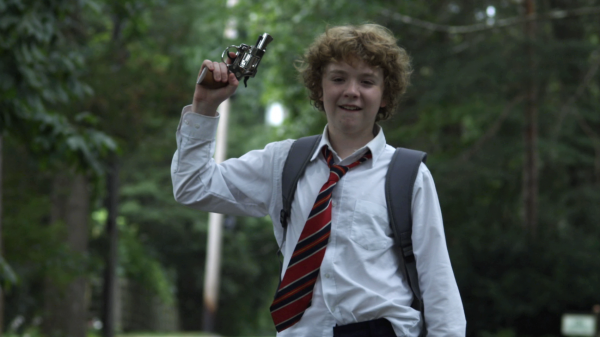 On the days they work funerals, Charlie (Alex Maizus) and his altar-boy friends have a habit of ditching school afterward and finding mischief.