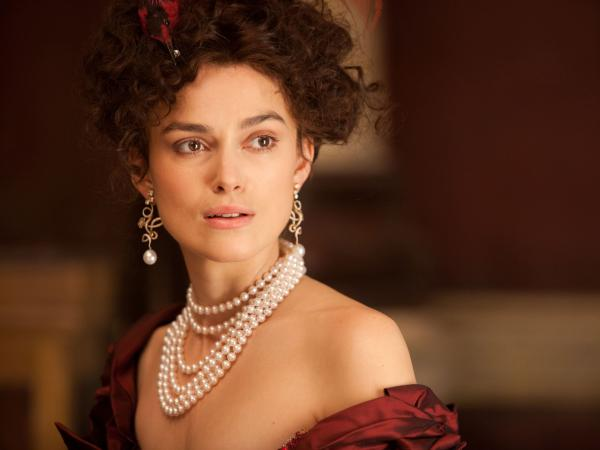 Keira Knightley plays the title role in Wright's adaptation of <em>Anna Karenina</em>. This is her third film with the director.