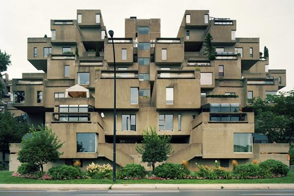 Habitat 67, designed by Canadian architect Moshe Safdie, was an experiment in mass-produced affordable housing.