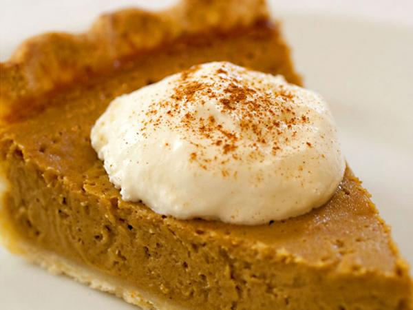 "This might look like pumpkin pie, but it's actually a gluten-free twist on tradition: Stephanie Stiavetti's <a href=""http://www.npr.org/templates/story/story.php?storyId=120503651#120504135"">Butternut Squash Pie</a>."