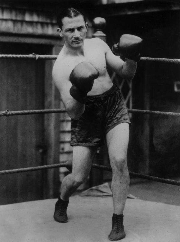American lightweight Benny Leonard, pictured in 1925, is remembered as one of boxing's greatest.