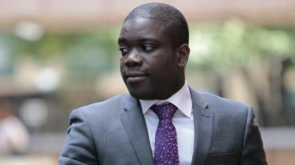 Former UBS trader Kweku Adoboli on Sept. 18, 2012.