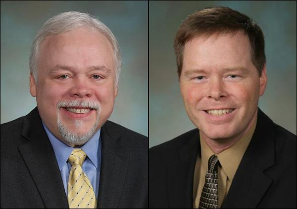 Republican state Senator Don Benton (L) and Democratic challenger Tim Probst are separated by only 105 votes.