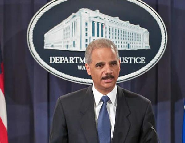 US Attorney General Eric Holder. Photo via US Department of Justice