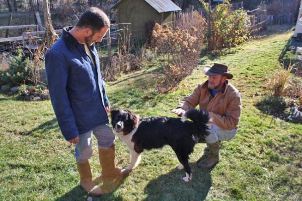Joe Palisano and Tom Bry have a farm just south of Sandpoint, Idaho. Photo by Jessica Robinson
