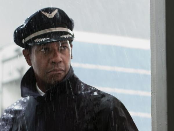Denzel Washington stars in <em>Flight</em>, the latest film from writer-producer-director Robert Zemeckis.