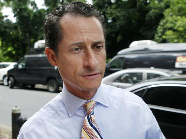 Democratic Rep. Anthony Weiner resigned from Congress in June after tweeting lewd photos of himself.