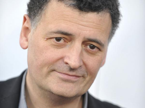 Steven Moffat is the co-creator of <em>Sherlock</em>. He's also the lead writer and executive producer for the British science-fiction TV show <em>Doctor Who.</em>