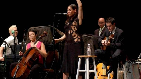 Pink Martini performs on <em>Mountain Stage</em>.