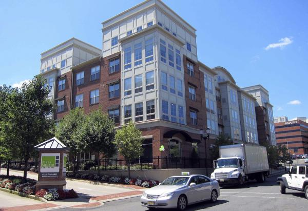 This July 13, 2011, photo shows the apartment complex in New Brunswick, N.J., where an apartment was rented by an undercover NYPD officer.