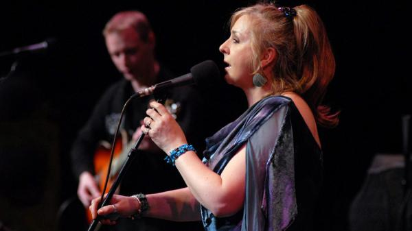 Moya Brennan performs on <em>Mountain Stage.</em>