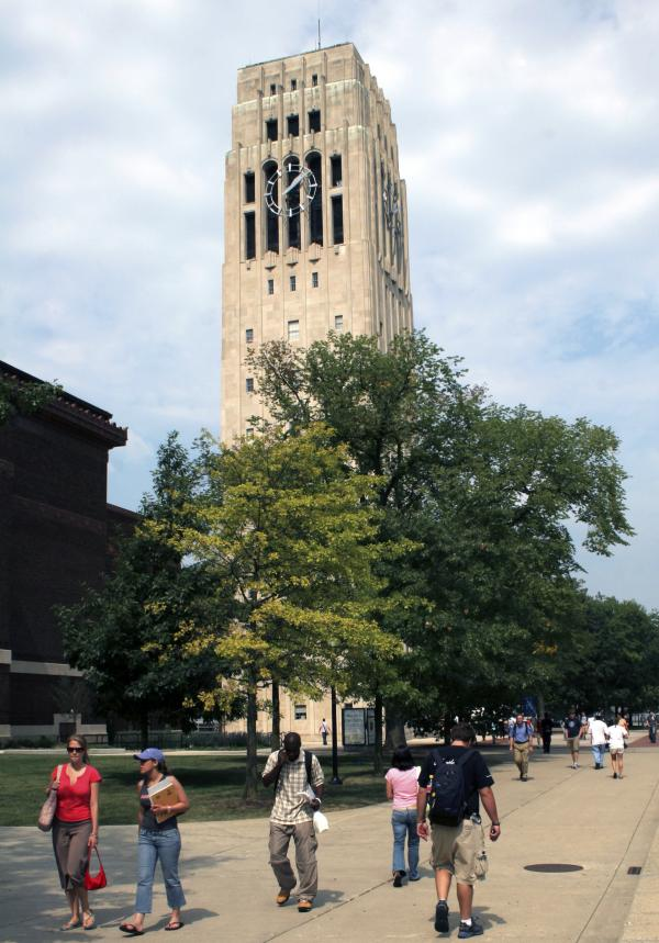 The University of Michigan's carillon bells ring out from the Burton Memorial Tower every day that classes are in session.
