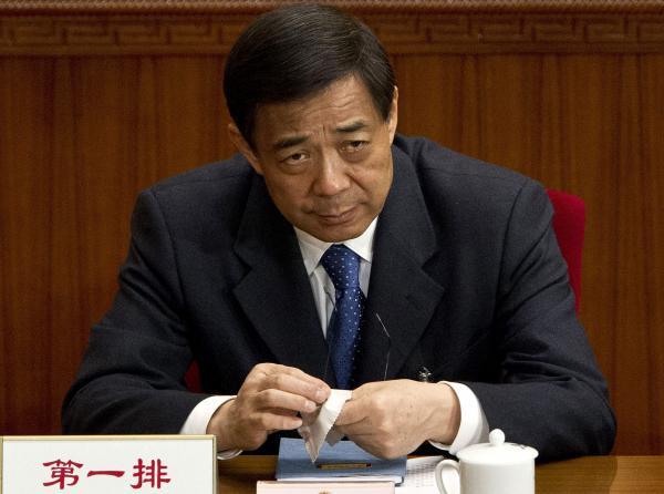 Bo Xilai in 2004.